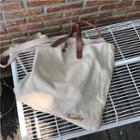 Canvas Tote Bag As Shown In Figure - One Size