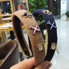 Studded Woven Hair Band