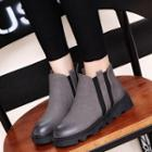Burnished Chelsea Boots