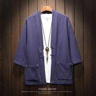 3/4-sleeve Frog-button Jacket