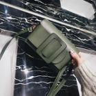 Plain Buckled Crossbody Bag
