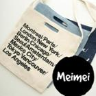 Canvas Print Shoulder Bag