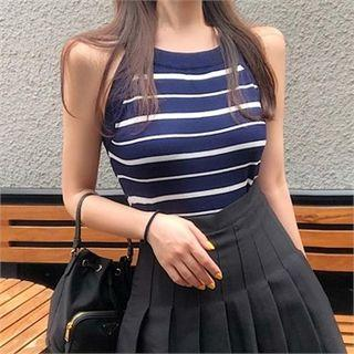 Halter Stripe Top