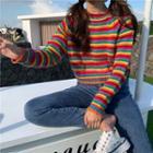 Striped Sweater / Cardigan