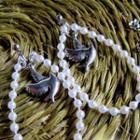 Pigeon Pearl Earrings