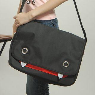 Devil Messenger Bag Black - L