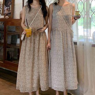 Floral Maxi Tank Dress
