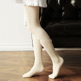 Pinstripe Fleece-lined Leggings