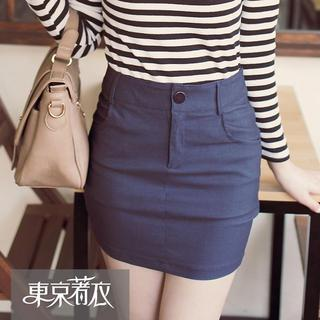 Pencil Mini Skirt