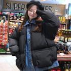Mock Two-piece Puffer Jacket