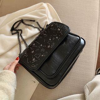 Star Flap Crossbody Bag