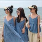 Camisole Top / Strappy A-line Dress / Strappy Midi Dress