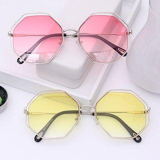 Asymmetric Frame Sunglasses