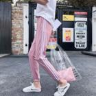 Jogger Pants / Drawstring-cuff Pants