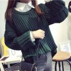 Loose Fit Plain Sweater