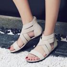 Cross Strap Gladiator Sandals