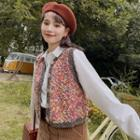 Nubby Knit Vest As Shown In Figure - One Size