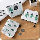 Cactus Printed Pouch