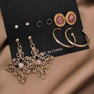Set: Earring (various Designs) 0163a# - Set - Classic Earrings - Multicolor - One Size