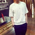 Paint Splattered Short-sleeve T-shirt