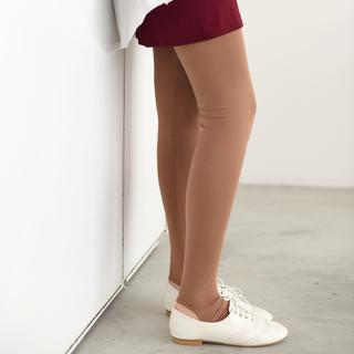 Elastic-waist Stirrup Leggings