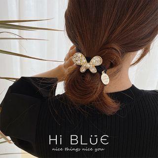 Faux Pearl Hair Clip / Hair Tie