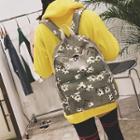 Floral Print Lightweight Backpack