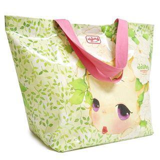 Ddung Series Shopper Bag Yellow Green - One Size