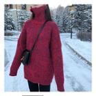 Melange Sweater / Turtleneck Sweater