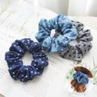 Dotted Fabric Hair Tie