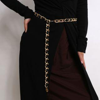 Chained Waist Belt 0547 - Gold - One Size