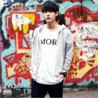 Colored Cotton Hoodie