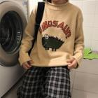 Dinosaur Print Sweater