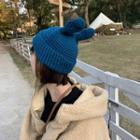 Rabbit Ear Knit Hat