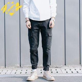 Slim-fit Cargo Jeans