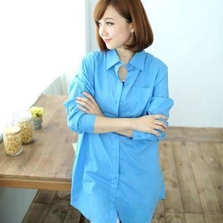 Long-sleeve Long Shirt