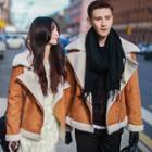 Matching Couple Faux Shearling Jacket