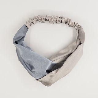 Two-tone Fabric Criss Cross Headband