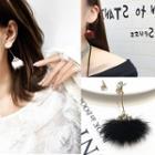 Furry Earrings