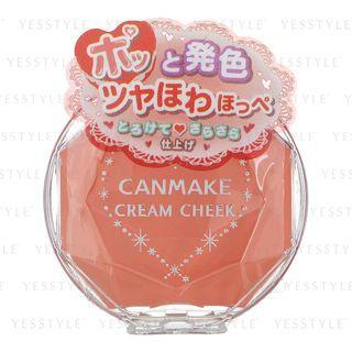 Canmake - Cream Cheek (#05 Sweet Apricot) 1 Pc