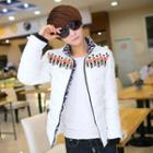 Soldier Print Padded Jacket