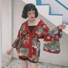 Patterned Japanese Jacket