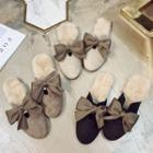 Ribbon Accent Mules
