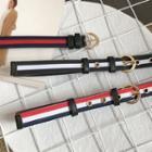 Color Panel Grommet Belt