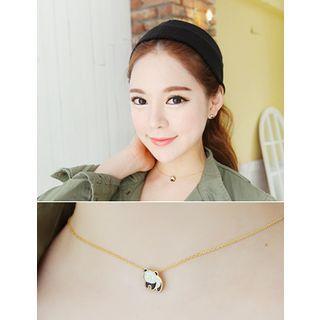 Panda Pendant Necklace