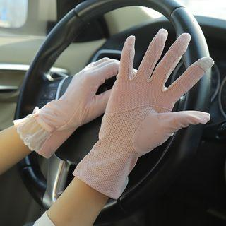 Lace Sun Protection Gloves