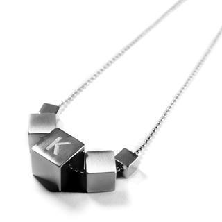 5 Icy Cubes Necklace