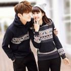 Couple Matching Patterned Hoodie