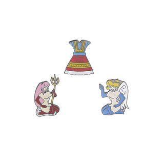 Devil / Angel / Dress Brooch