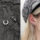 Stainless Steel Studded / Hoop Earring